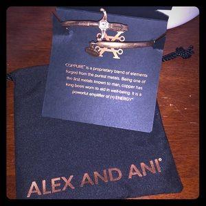 EUC Alex & Ani Coppure sword wrap